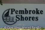 Pembroke Shores community sign