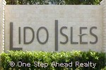 Lido Isles community sign